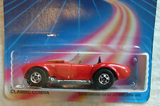 1986 HOT WHEELS RED CLASSIC COBRA #2535 NEW IN PACKAGE with RED ENGINE!