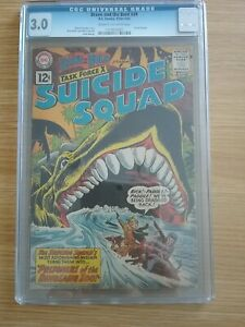 1961 DC Comic THE BRAVE & THE BOLD 39 - SUICIDE SQUAD CGC 3.0 Post Free UK