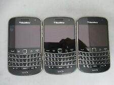 Lot Of 3 Good Unlocked Sprint Blackberry Bold 9930 8Gb Qwerty Keypad Clean Imei