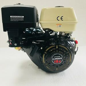 "LF420Q 15hp LIFAN Petrol Engine Replaces Honda GX390 1"" Shaft. Stage V Compliant"