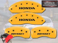 """2011-2017"""" Honda Odyssey"""" Delantero + Posterior Amarillo MGP Disco Freno Pinza"""