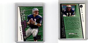1995 Skybox Same Game More Attitude Drew Bledsoe F14 New England Patriots