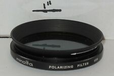Vintage MINOLTA 55N POLARIZING FILTER 55MM LIGHT HAZE