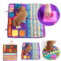 Sniffing Pad Feeding Puzzle Cushion Toy Pet Dog Snuffle Mat Nose Training Game