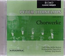 PETER CORNELIUS   Chorwerke   CD-Album, neu, eingeschweißt