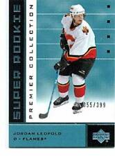 2002-03 UD Premier Collection Super Rookie #47 Jordan Leopold 55/399!