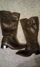 Ladies Leather Lavorazione Artigiana Boots size 5 Wide Calf bought in John Lewis