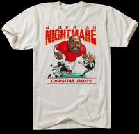 HOMAGE Christian Okoye T-Shirt Unisex Size S-4XL DD1131