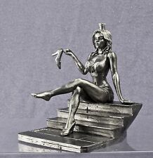 Beautiful erotic girl. Cinderella. Tin soldier. 75mm.