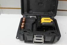 DeWalt Dw08802 40-Foot Locking Pendulum Red Cross Line Laser Level W/Case