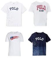 New Polo Ralph Lauren Boy's Cotton T-Shirt SIZE 5,6,7,S,M,L,XL MSRP:$25.00
