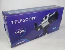 Aomekie Telescope For Kids Adults Astronomy Beginners 140x 300mm Refractor