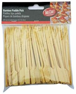 """Products BAMP45 Bamboo Paddle Pick 4.5"""" Pack of 10"""