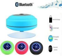 Wireless Bluetooth Speaker Waterproof Shower Shockproof Portable Mic Subwoofer