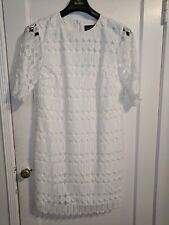NWT Banana Republic Limited Edition White Lace Cocktail Dress - size 14