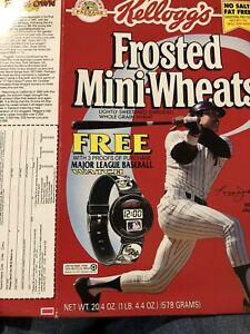 Reggie Jackson 1994 Cereal Box