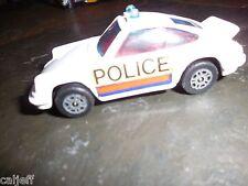 Vintage 1973 Corgi Juniors Gt Britain Diecast Toy Porsche Carrera Police Car