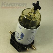 """New 3/8"""" NPT Fuel Filter Water Separating System For Marine Outboard Motor S3213"""
