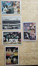 Score 1990 Baseball World Series Card Set, All 5 cards (582, 700-703)