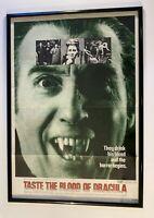 TASTE THE BLOOD OF DRACULA ORIG MOVIE POSTER 1970 CHRISTOPHER LEE