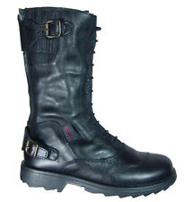 $350.00 Belstaff Boys Streetmaster Leather Boots EU Size 29 Shoes Made in Italy