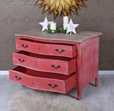 Bedroom Dresser Baroque Cabinet with Drawers Red Sideboard Drawers Vintage