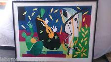 "Lithographie "" La tristesse du roi"" Henri  Matisse 1952 . Lithography  Matisse"
