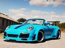 Porsche 911 Wide Body Kit 996 997