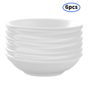 6Pc Melamine Dipping Bowl Sauce Dishes Unbreakable Heat-Resistant Round Bowl
