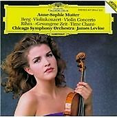 Berg: Violin Concerto, Anne-Sophie Mutter, Audio CD, New, FREE & FAST Delivery