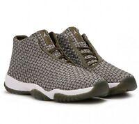 NEW Nike AIR Jordan Future Men's Olive Canvas / Olive Canvas / White 656503-305