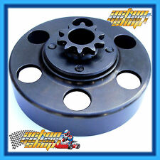 GO KART CLUTCH DRUM WITH 10 TOOTH SPROCKET IAME X30, KA100 BELL BY ITALSPORT
