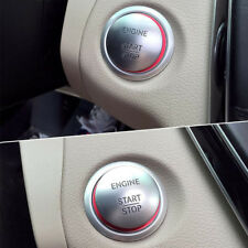 Red Start Button Ring Cover Keyless Ignition Trim for Mercedes Benz W205 C Class