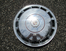 One genuine 1989 to 1992 Cadillac Deville 15 inch hubcap wheel cover