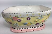 MARY ENGELBREIT Meadow Hostess Ceramic CHIP BOWL Michel and Co 2001