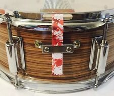 Snare Flair Drum Straps Percussion Paint Splatter Red USA Made SnareFlair
