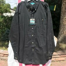 Men's Tri-Mountain Long-Sleeved 100% Cotton Shirt Size 4XL New with Tags
