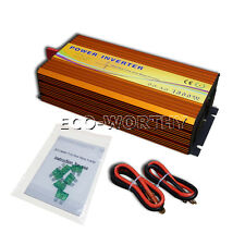1500W 12-220V Off Grid Inverter Sine Wave for Power Supply Solar Panel System