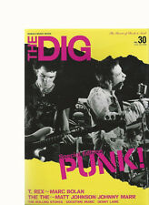 The Dig Japan No.30 2002 Special Punk Edition Sex Pistols T-Rex Marc Bolan Marr
