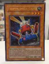 Yu Gi Oh Carta Mostro TRUPPA DELA CARTA DP03-IT009 ITALIANO Ultra Rara ITA IT