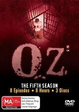 Oz : Season 5 (DVD, 2008, 3-Disc Set)