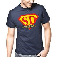 Superdad Superman Vater Papa Sprüche Geschenk Lustig Spaß Comedy Fun T-Shirt