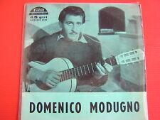 45 GIRI EP DOMENICO MODUGNO SOLE SOLE SOLE 4349 1959