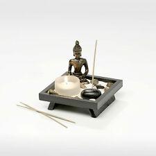 Zen Garten japanischer Garten Buddha Figur Räucherstäbchen Esotherik Buddhismus
