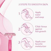 Gillette Simply Venus Hair Removal for Women - 5 razors + Free Shipping