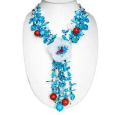 Halsketten und Anhänger für Damen mit Koralle Halskette