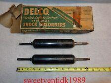 (2)...NOS Delco H-200 Shocks....GM #3125471....Chevrolet, Pontiac...etc