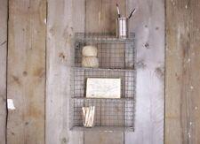 Locker Room Shelf, Industrial Wire Rustic Small Storage Display Unit Nkuku Wall