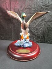 Danbury Mint - Wings Across The Waters - Hazy Ascent - Detailed Mallard Statue