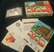 South Park Nintendo 64 N64 Game Complete in Box - Tested!
